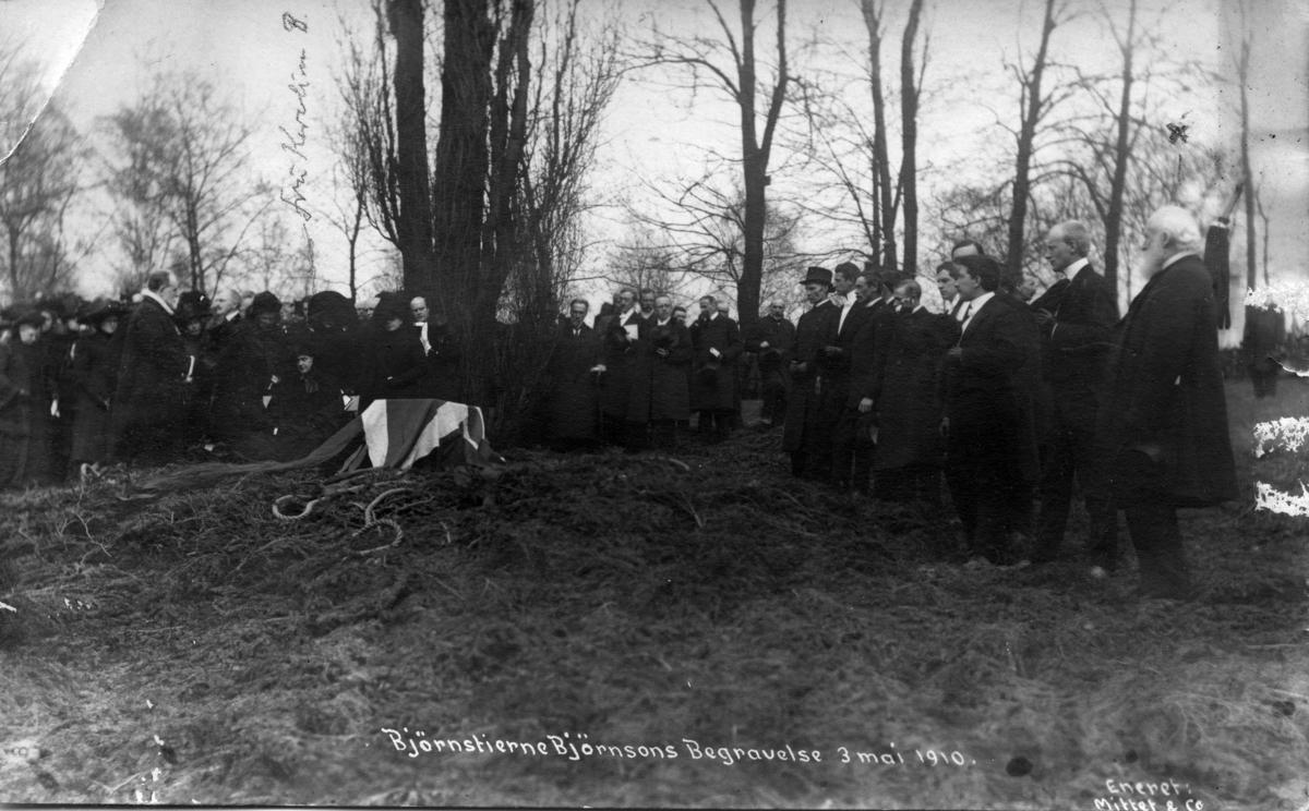 Bjørnstjerne Bjørnsons begravelse