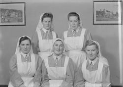Sandnessjøen's sykehus fotogr. forskj. gr. med søstre