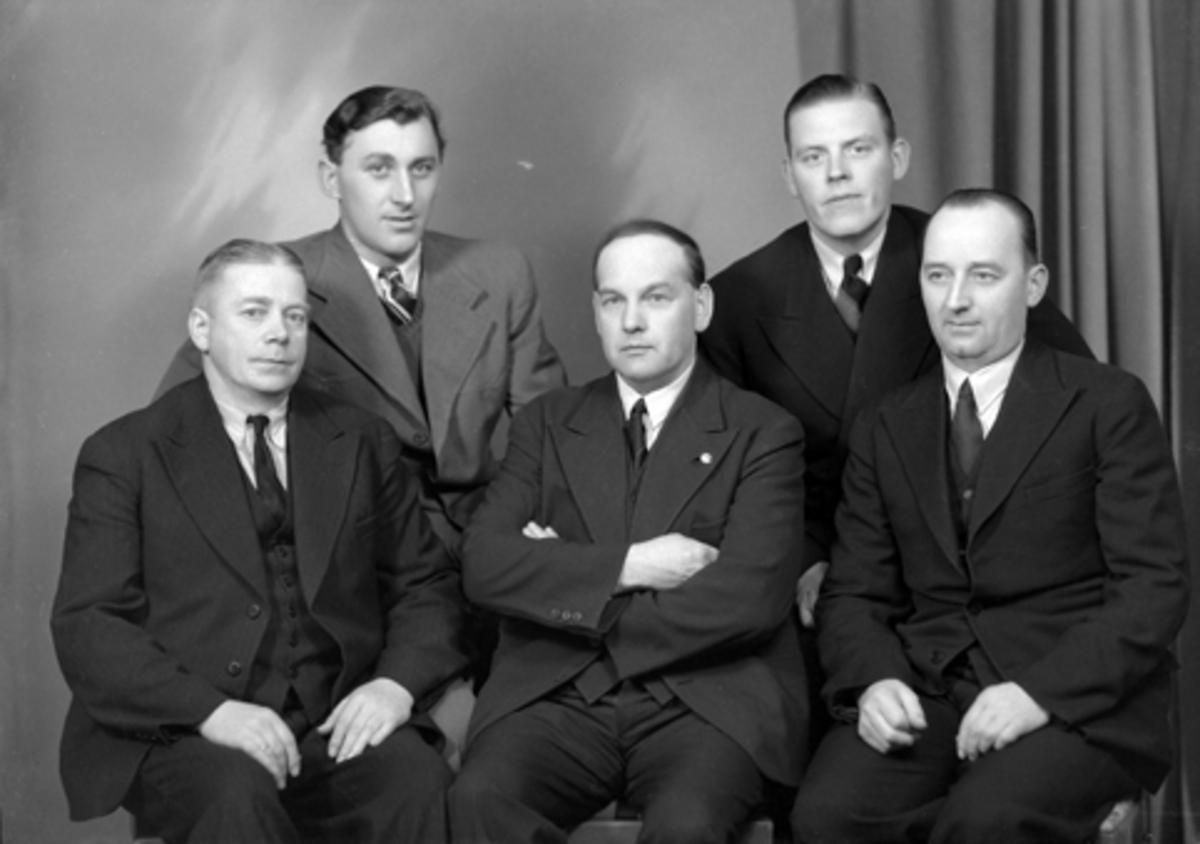 BAKERSVENNFORENINGEN, STYRET, GR. 5 UKJENTE, 29-3-1939.