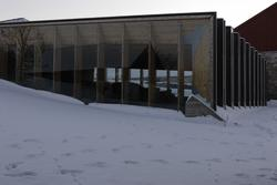 Vernebygg, Sverre Fehn, vinter