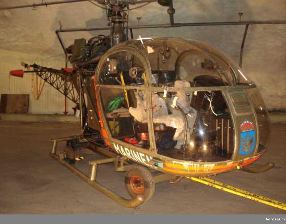 Dragvagn till helikopter 2