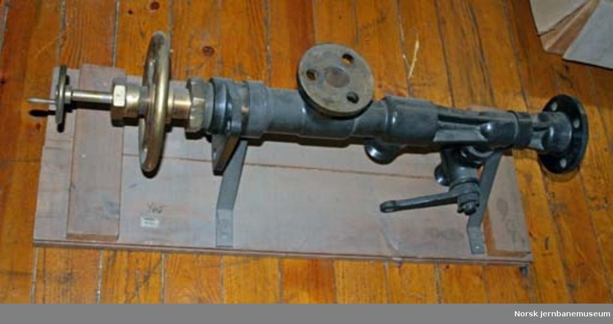 Injektor fra damplokomotiv