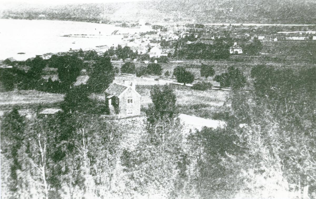 Jönköping, sett från vänster.