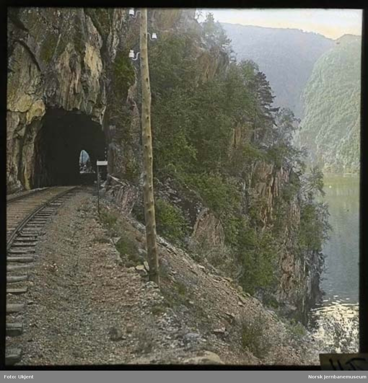 Væle tunnel på Vossebanen, sett fra østsiden