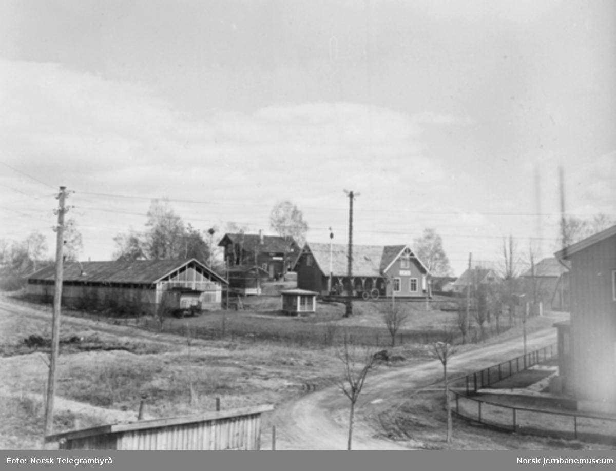 Jernbanemuseet på Disen : Oversiktsbilde