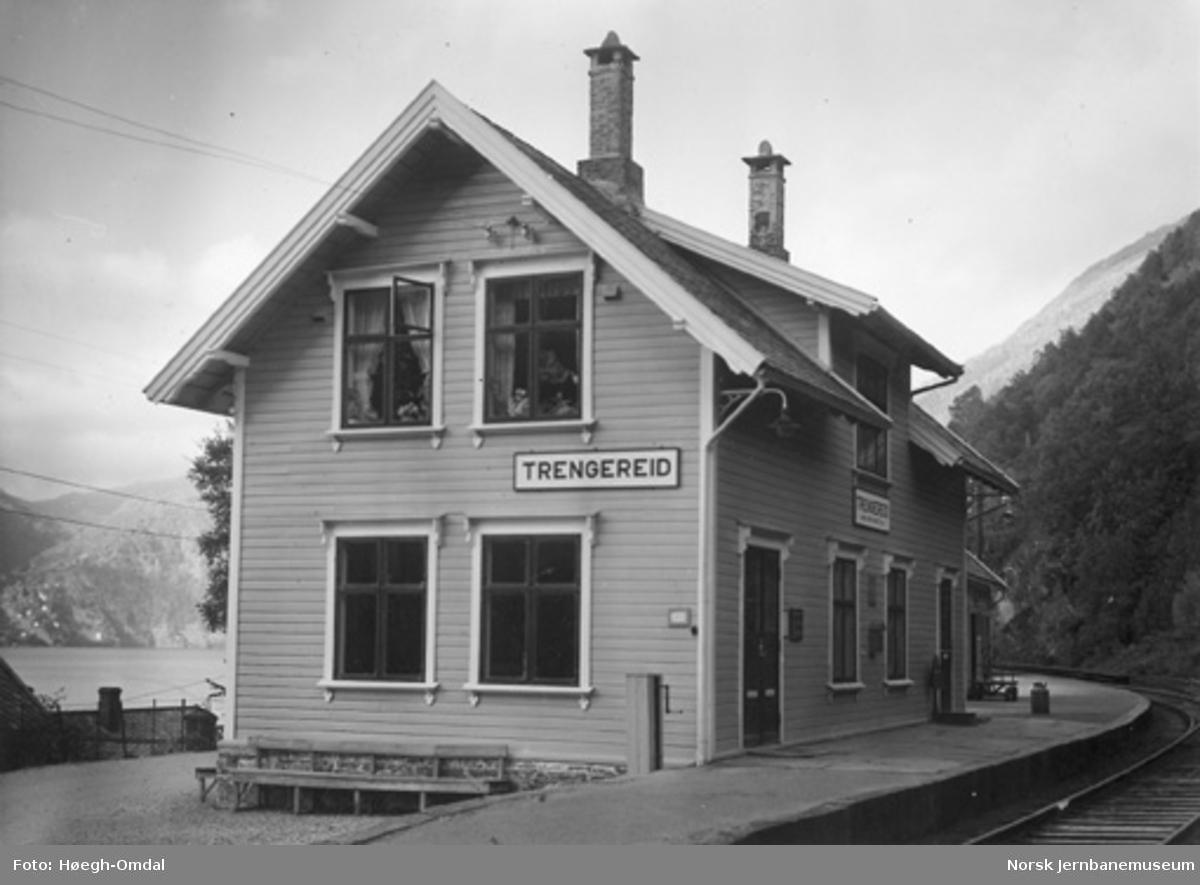 Trengereid stasjonsbygning