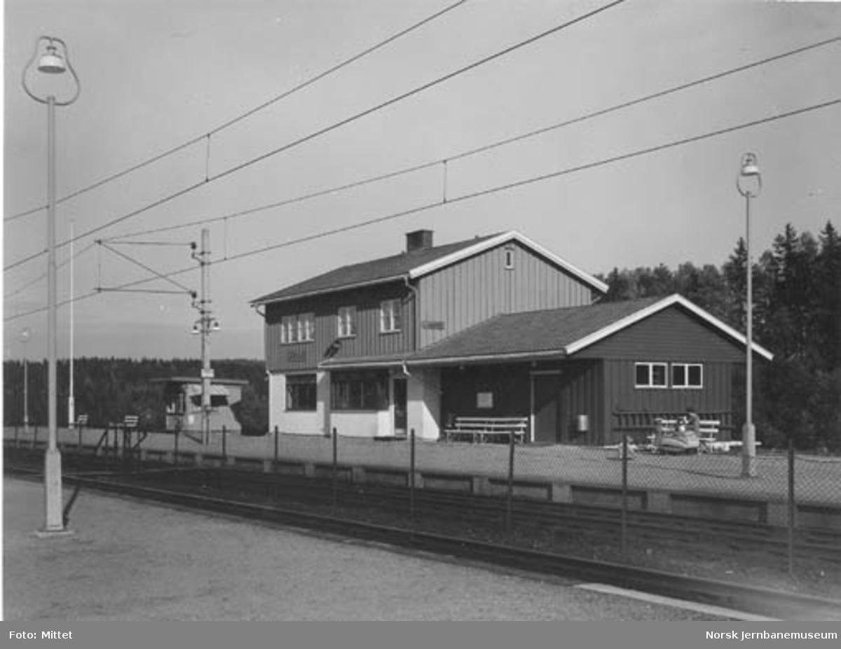Langhus stasjonsbygning