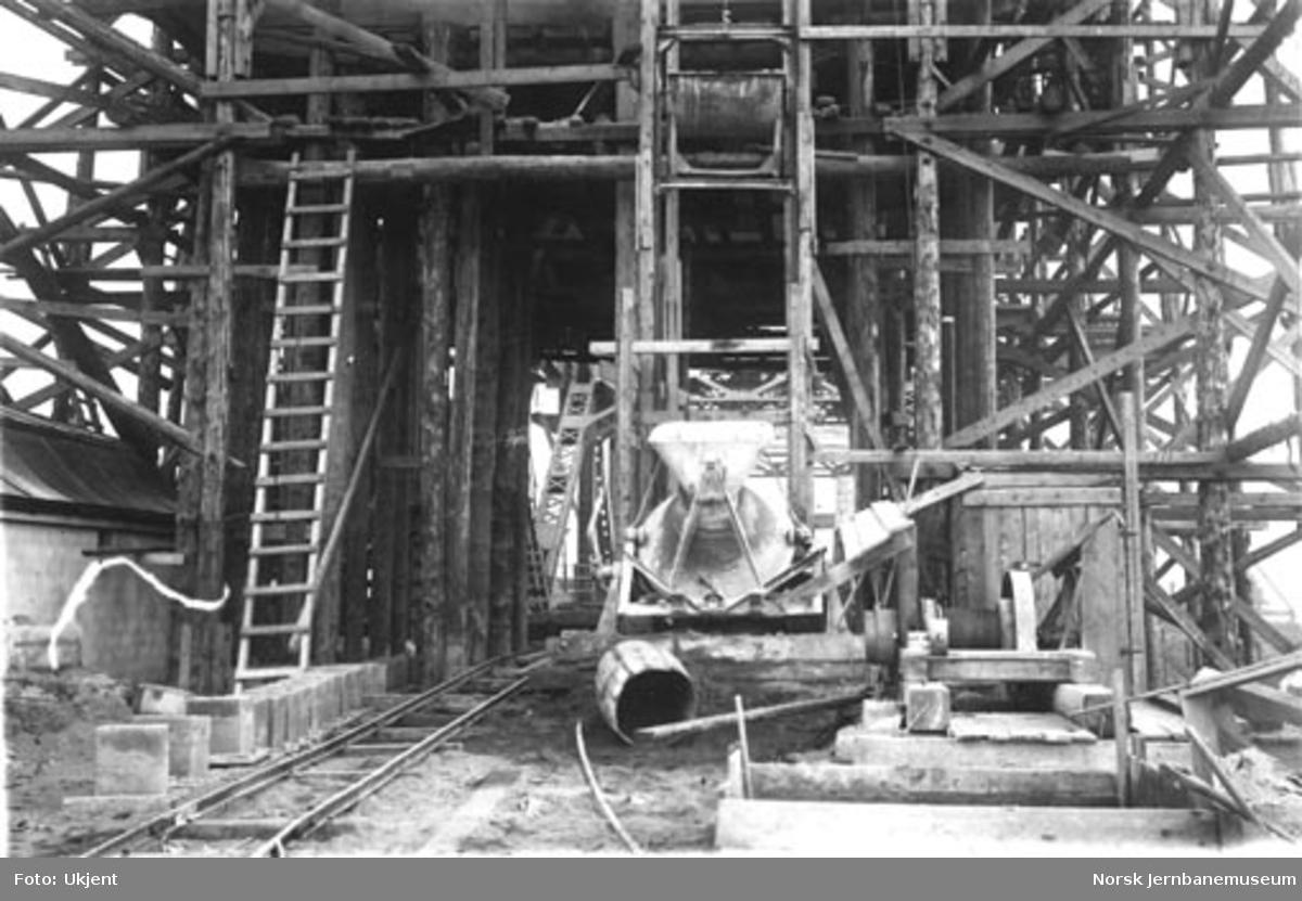 Anleggsarbeider ved Skansen