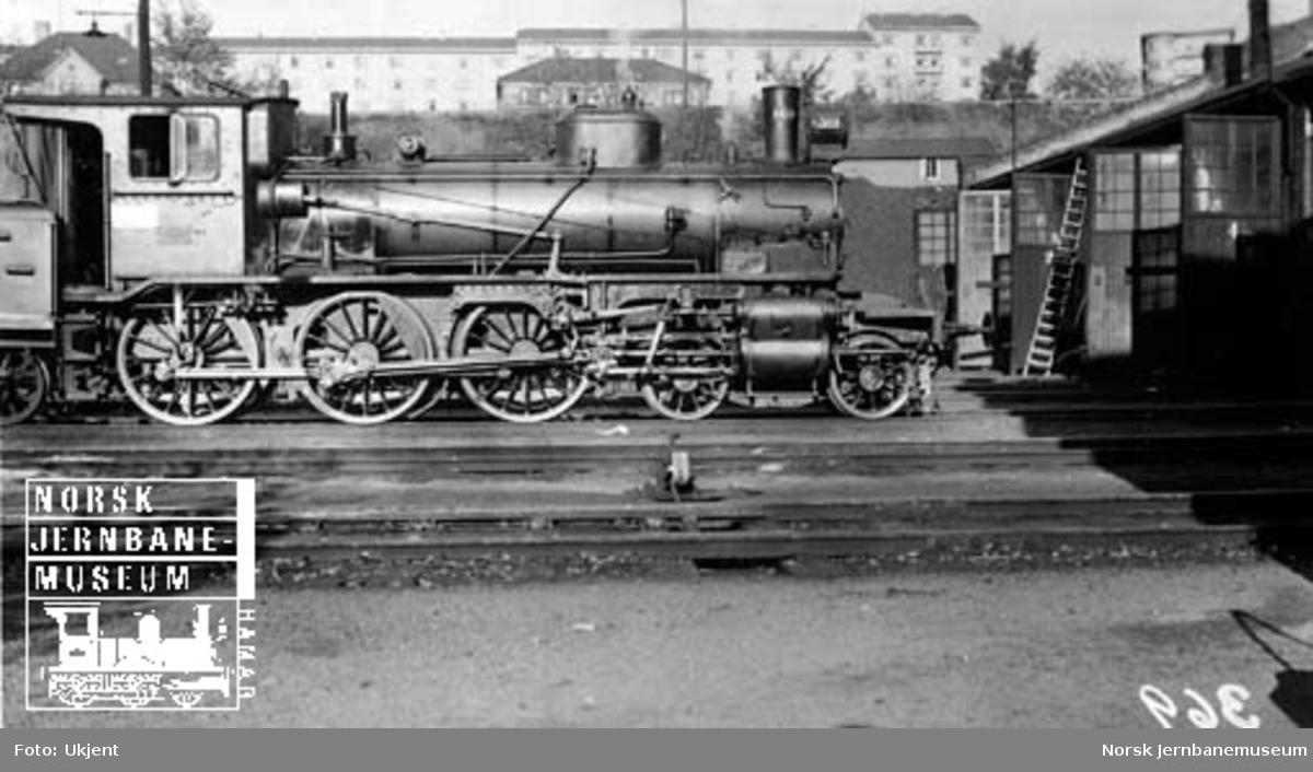 Damplokomotiv type 27b nr. 369 i Lodalen