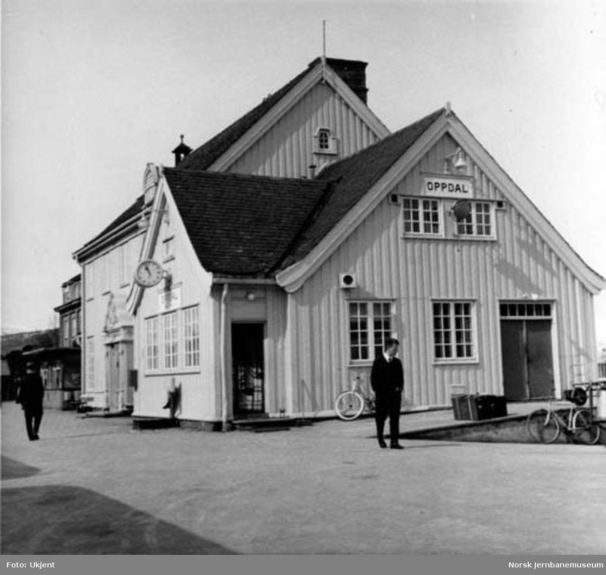 Oppdal stasjonsbygning