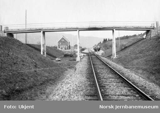 Overgangsbru ved Bø stasjon