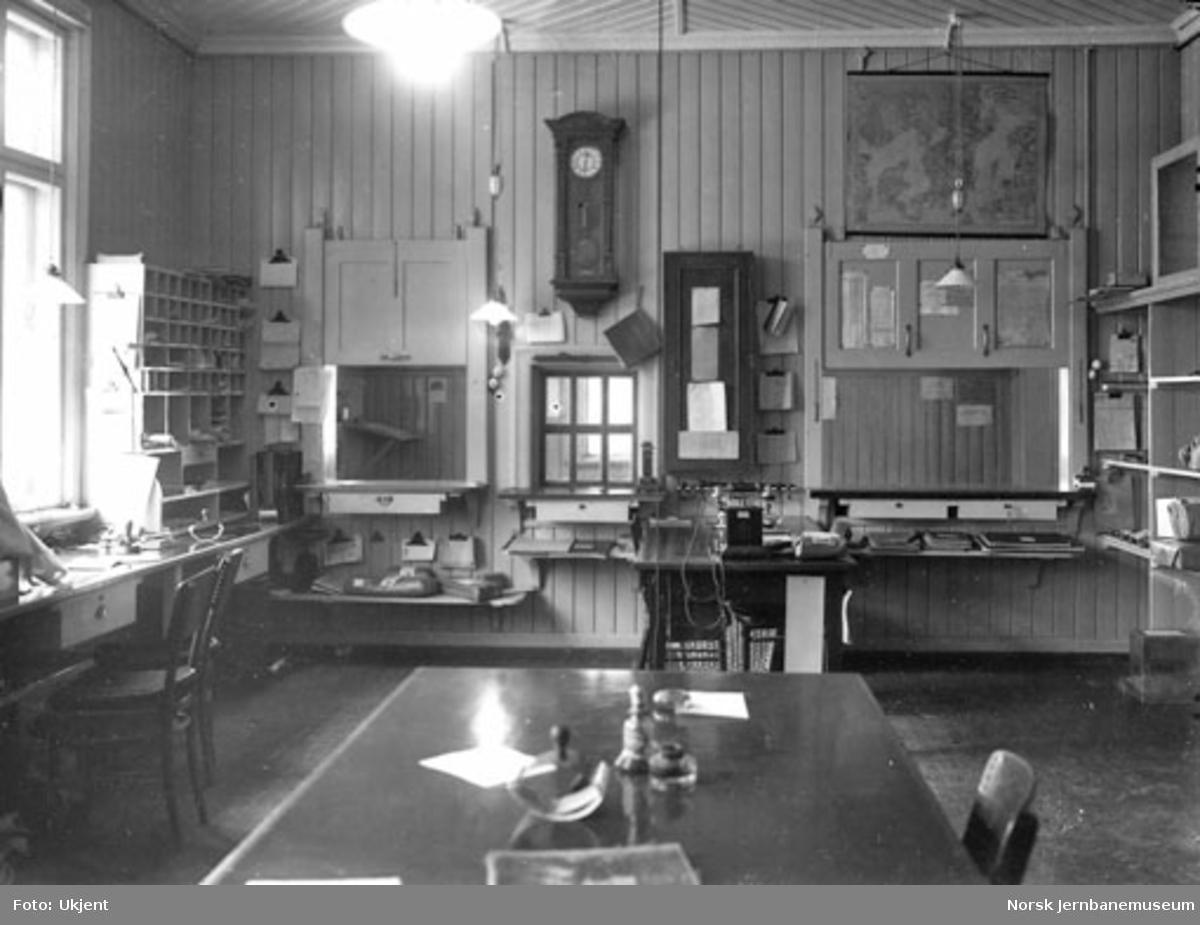 Stasjonskontoret på Vinstra stasjon