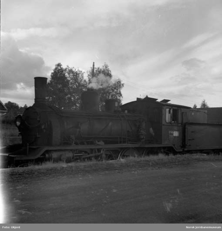 Damplokomotiv type 18c nr. 242