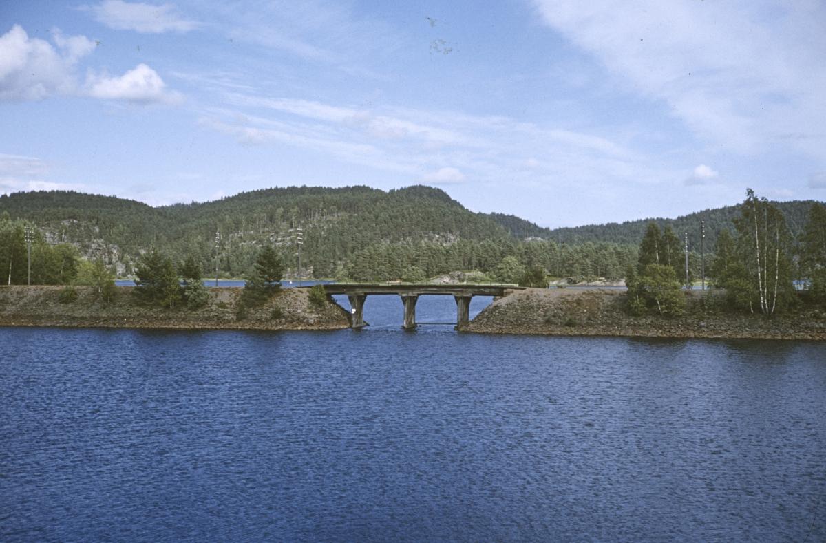 Errekilen bru på mellom Hægeland og Moisund på Setesdalsbanen