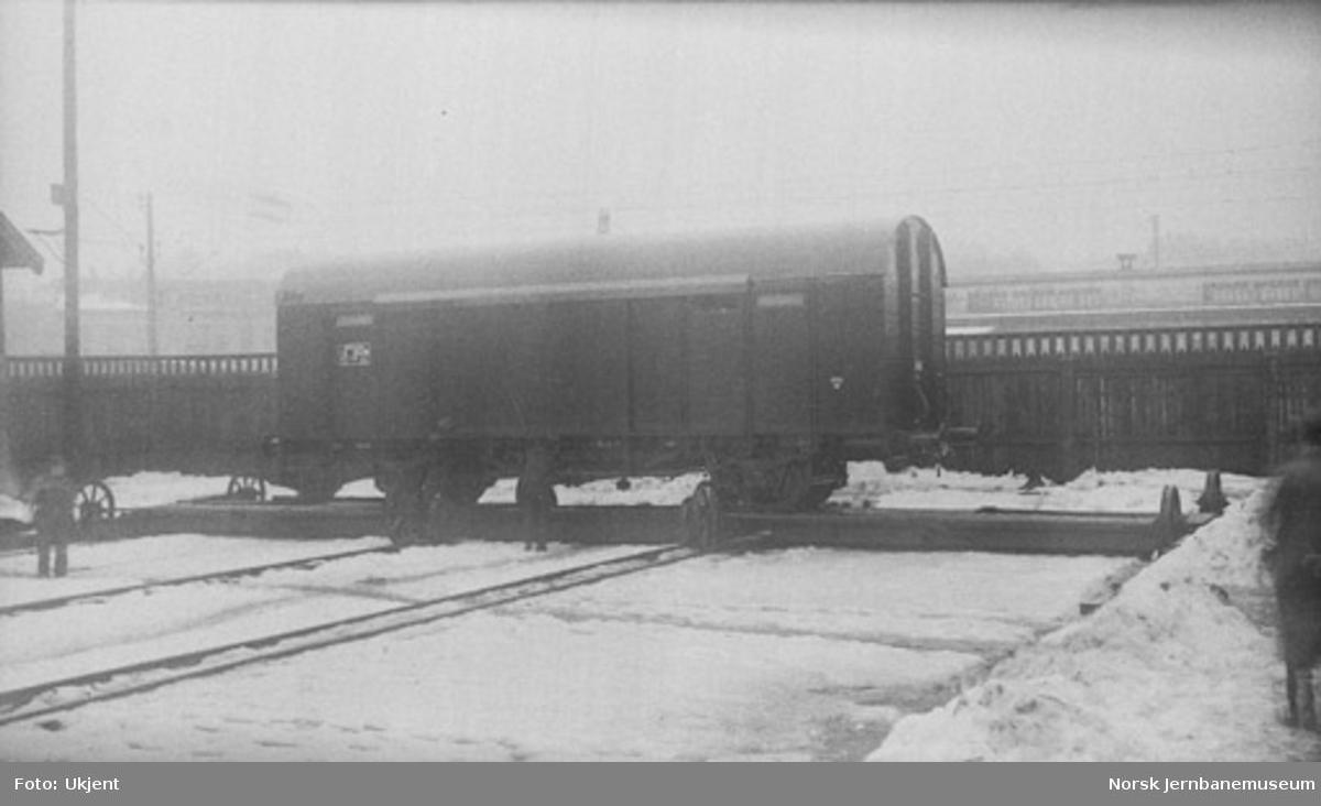 Lukket godsvogn litra G4 nr. 15436 ferdig til levering