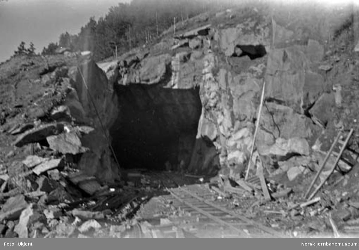 Raunakken tunnel, søndre innslag