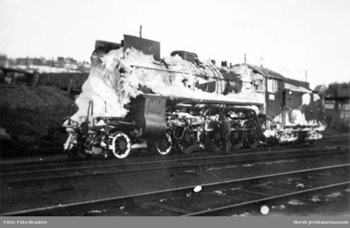 Nediset damplokomotiv type 31b