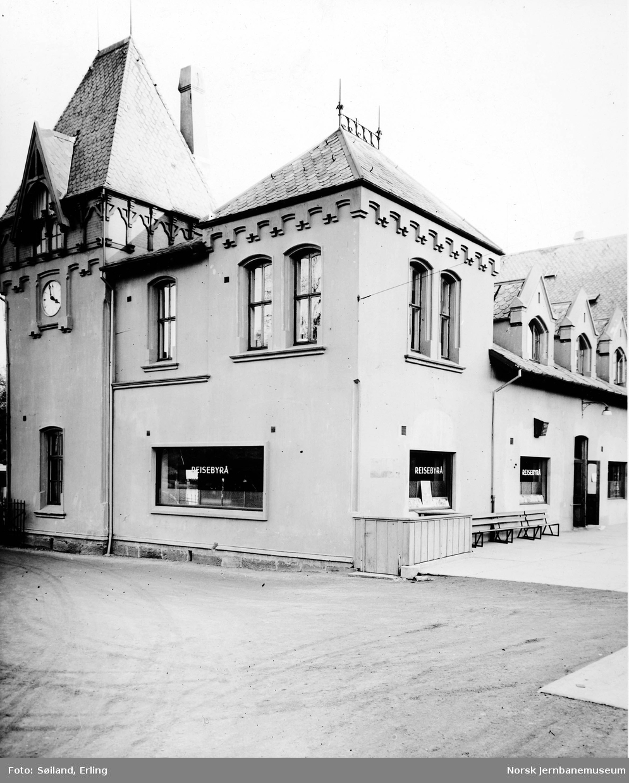 NSBs reisebyrå i Stavanger i Stavanger stasjonsbygning