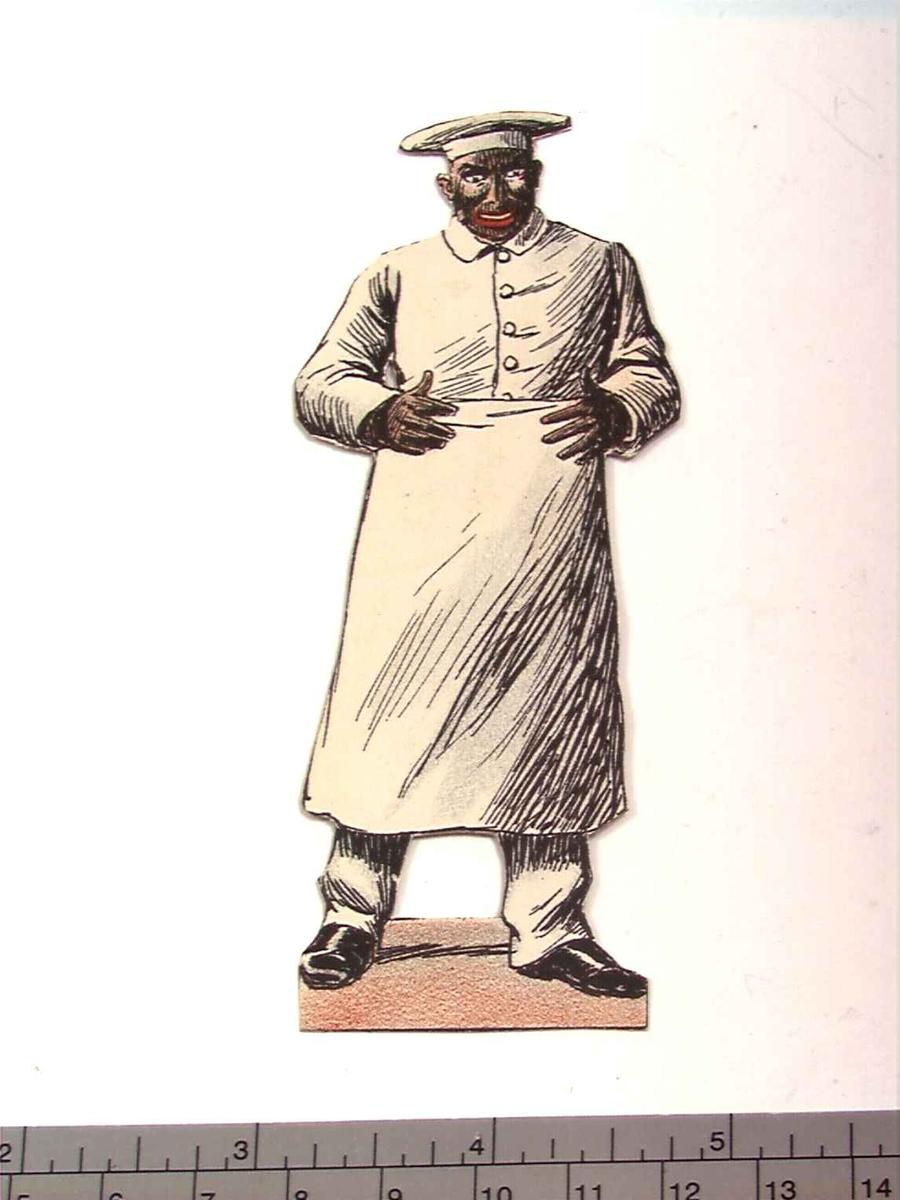 Papirdukketeater, figur til