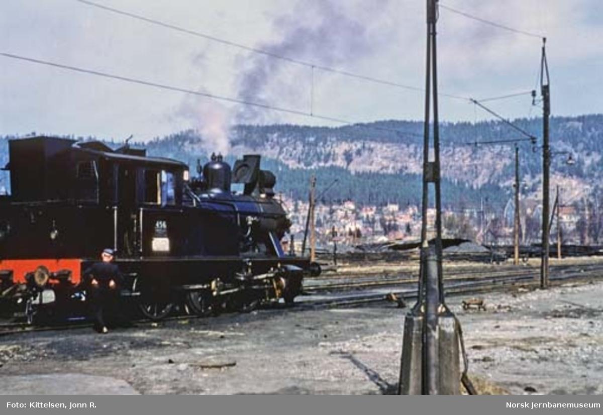Damplokomotiv type 23b nr. 456 etter hovedrevisjon