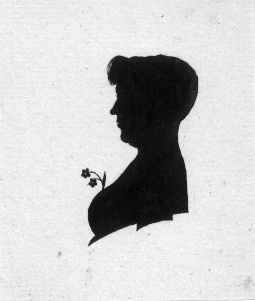 Ukjente portretter, silhouetter
