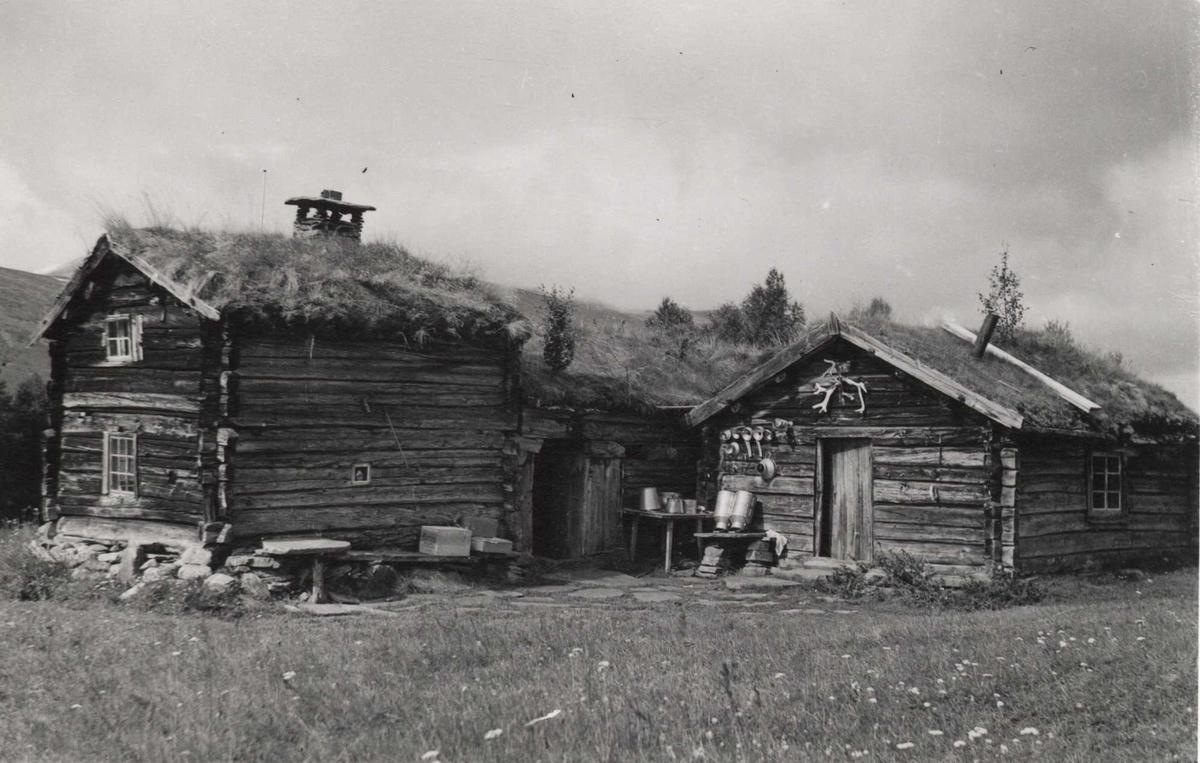 Gårdstun, Grøtsætra, Oppdal, Sør-Trøndelag.