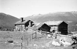 Husmannsplass, Blokkhusmorka, Lønset, Oppdal, Sør-Trøndelag.