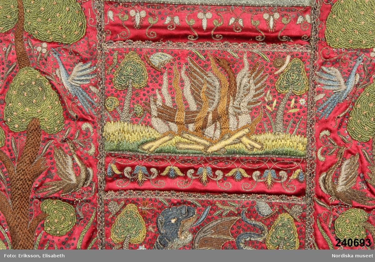 Djur, fågel, drake De fyra elementen Växter