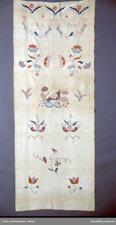 Hängkläde från 1842.