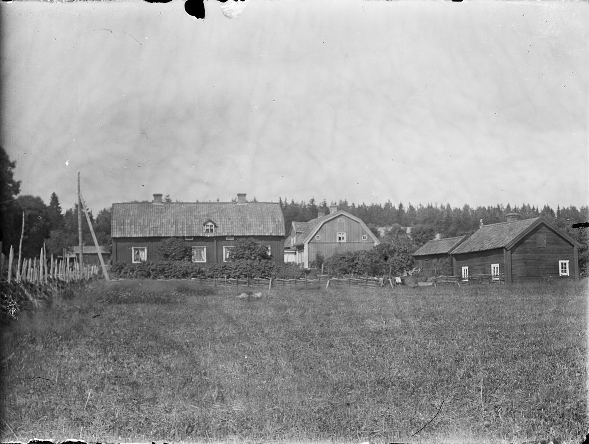 Landsbygdsbebyggelse, sannolikt Funbo socken, Uppland