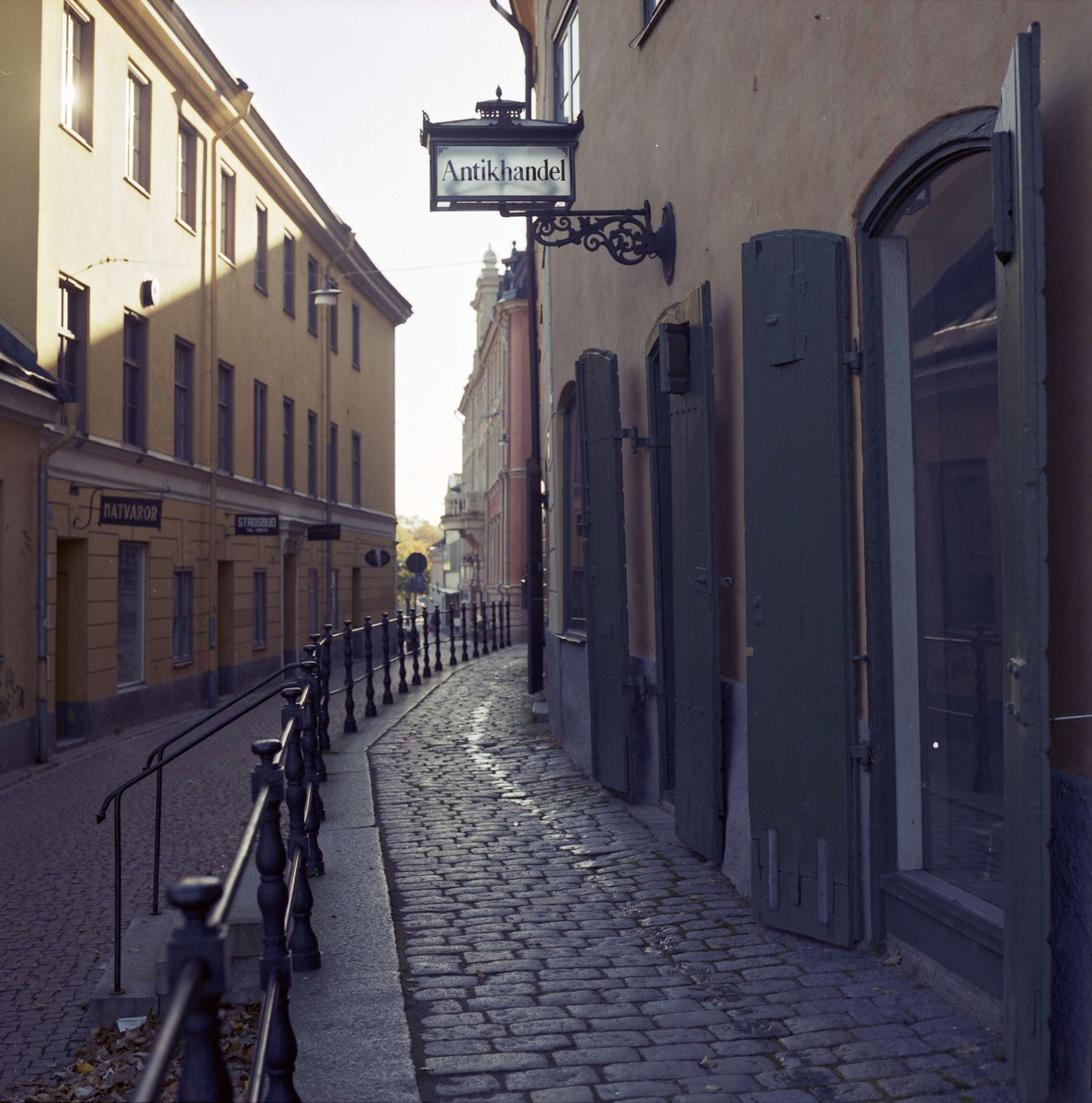 S:t Eriks gränd, Fjärdingen, Uppsala 1988