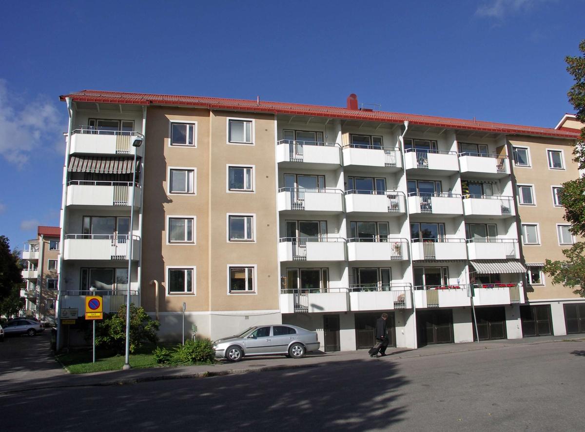 Bostadshus från 1950-talet i Sala backe, Uppsala