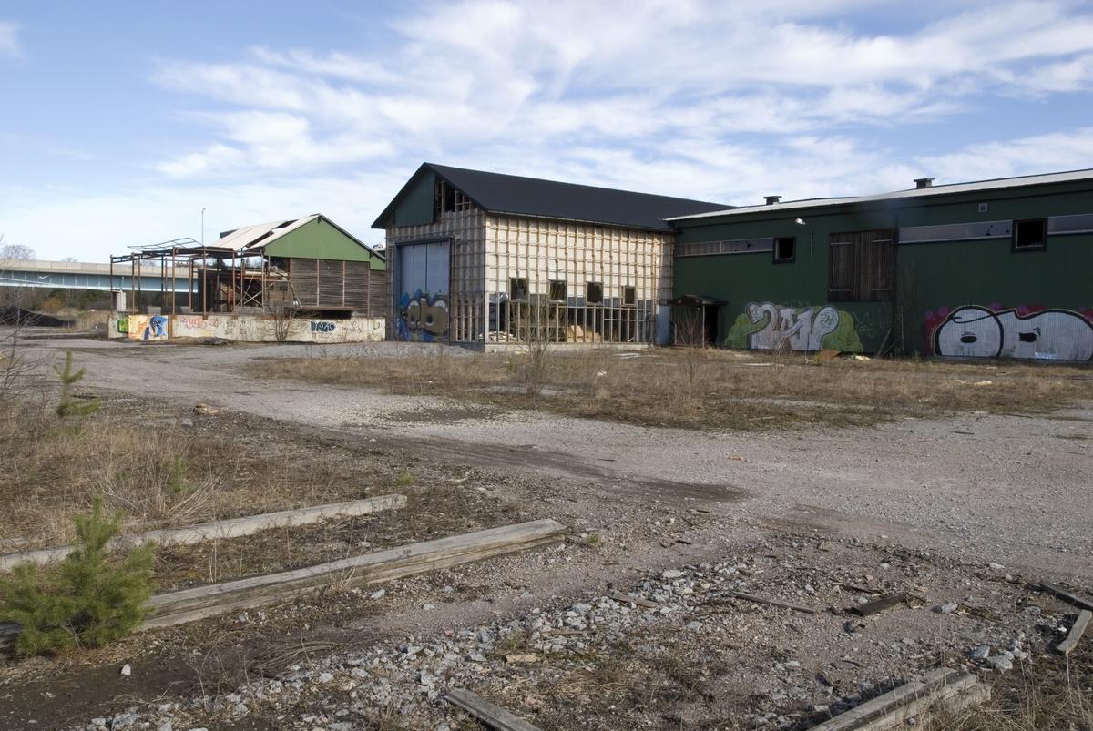 Knivsta sågverk, Knivsta, Uppland 2007