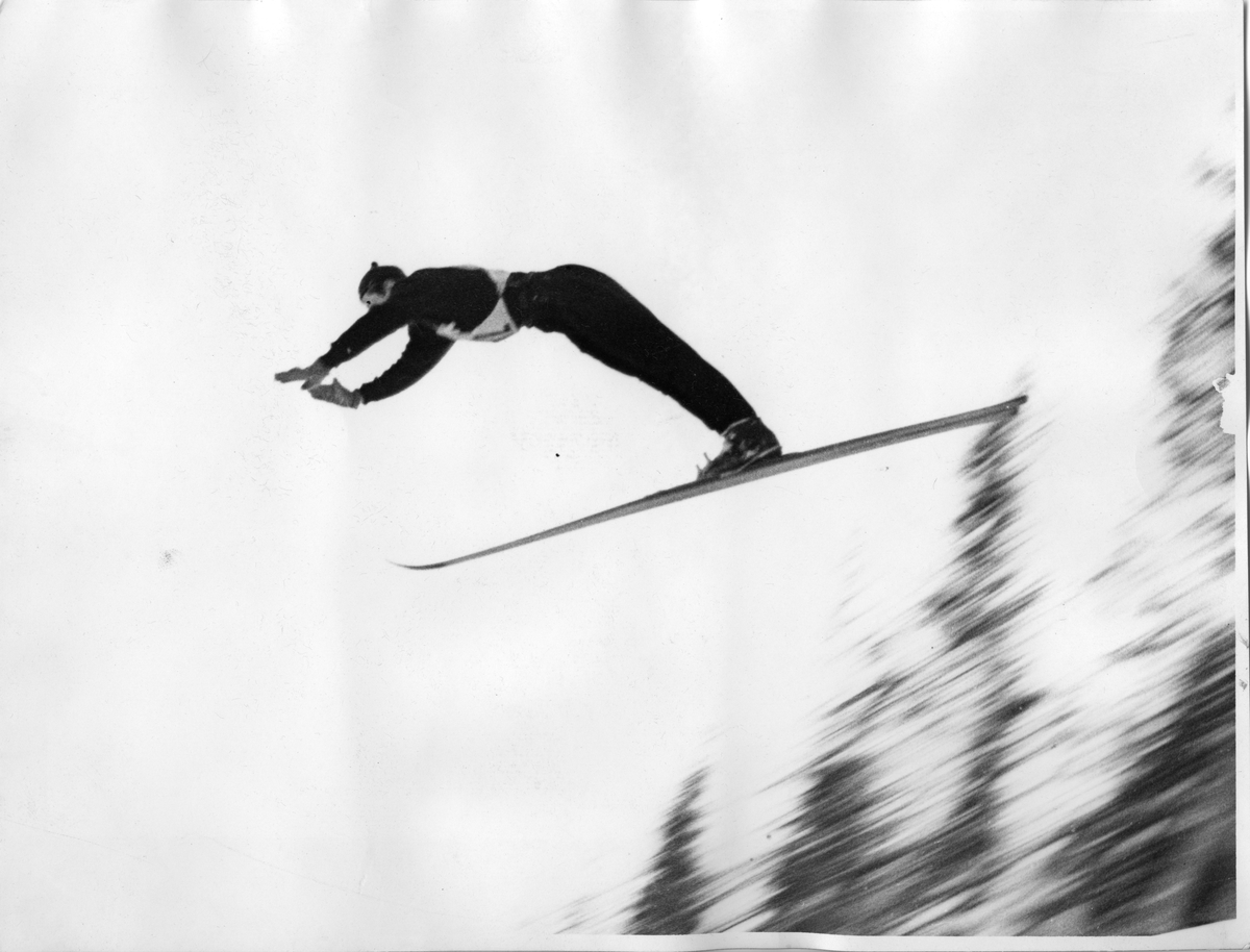 Kongsberg skier Petter Hugsted in action.