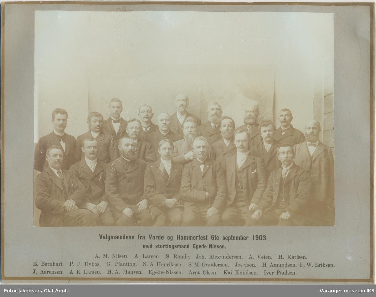 Valgmenn fra Vardø og Hammerfest