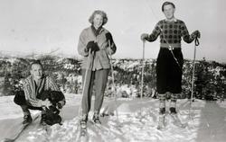 Skitur til Øvre Ås i Grindheim.
