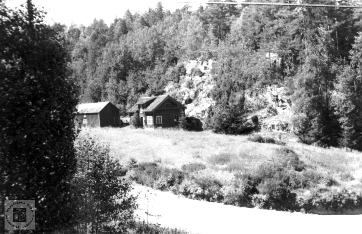 Gården Hefteli i Bjelland.