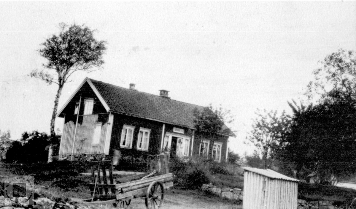 Setehus på Birketveit i Laudal.