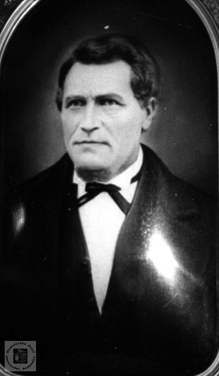 Portrett av Bendik Bentson Løvdal, Laudal.