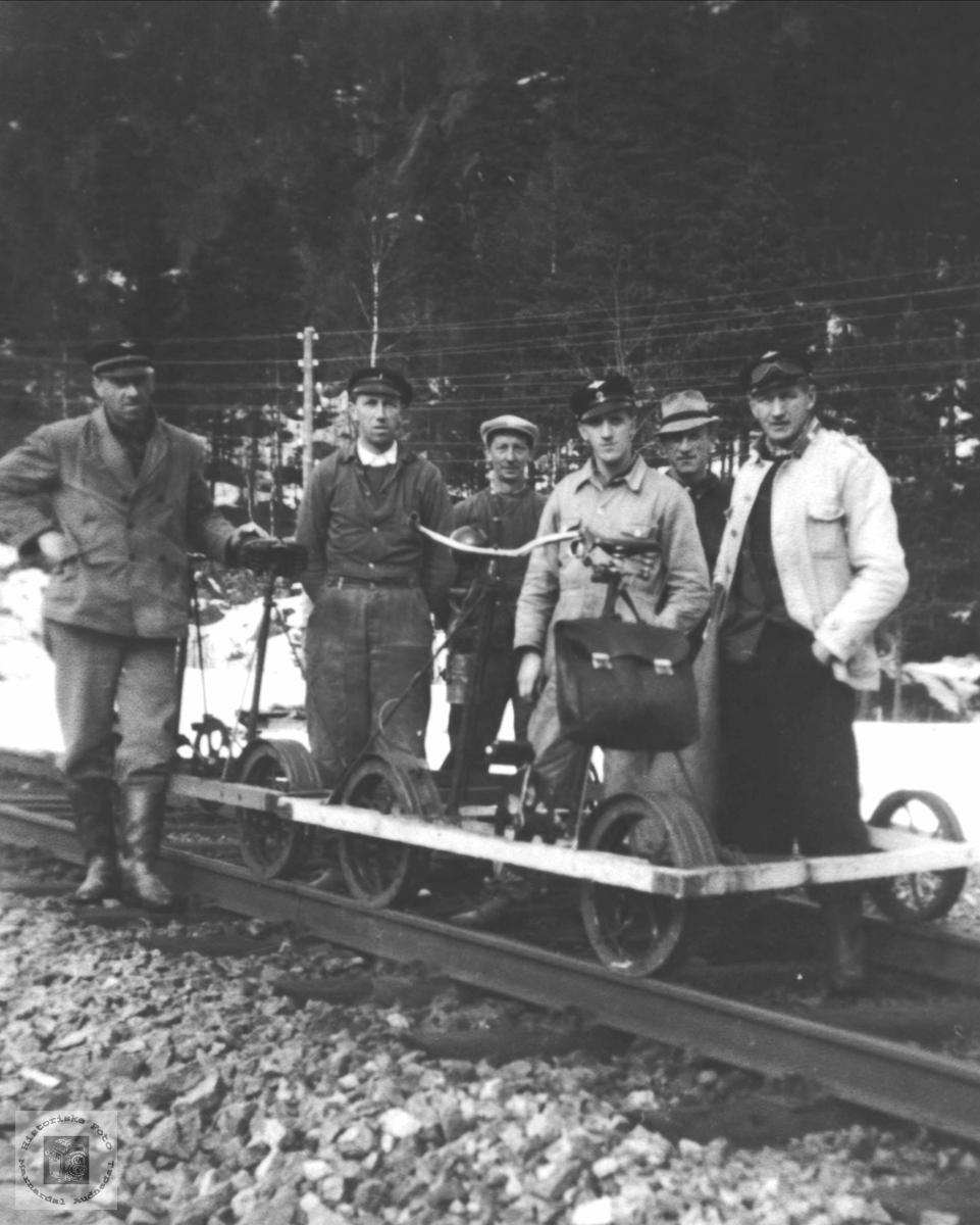 Arbeid på Jernbanen