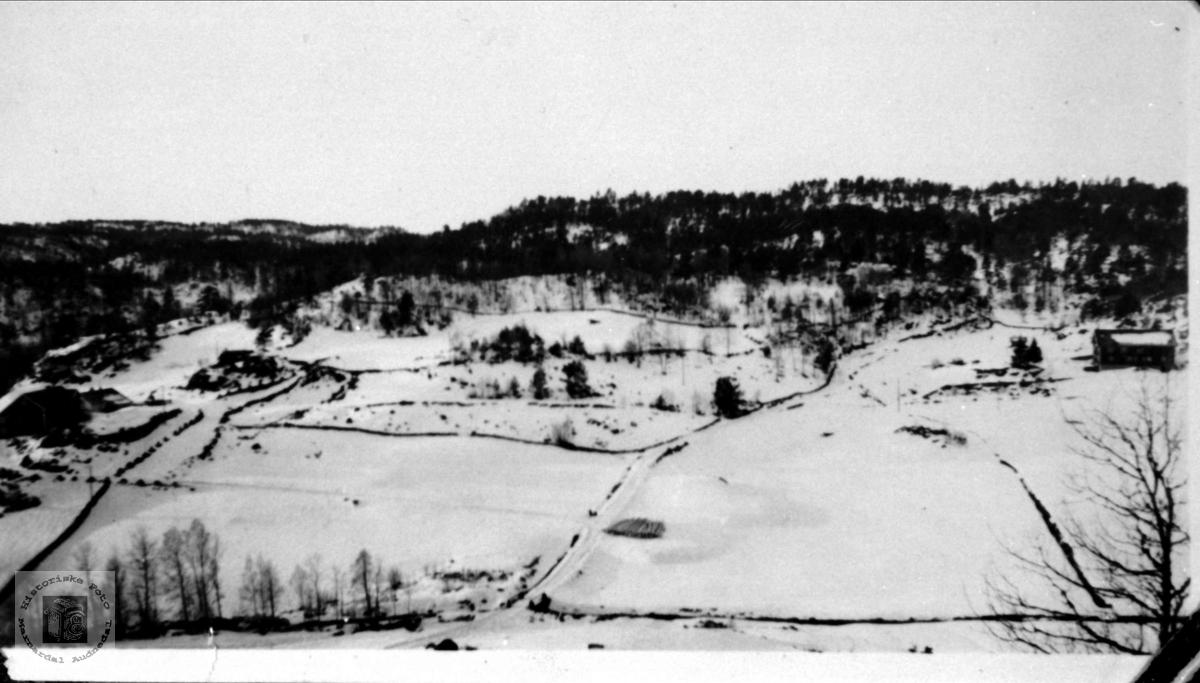 Tjomslandsgarden, Tjomsland i Laudal.