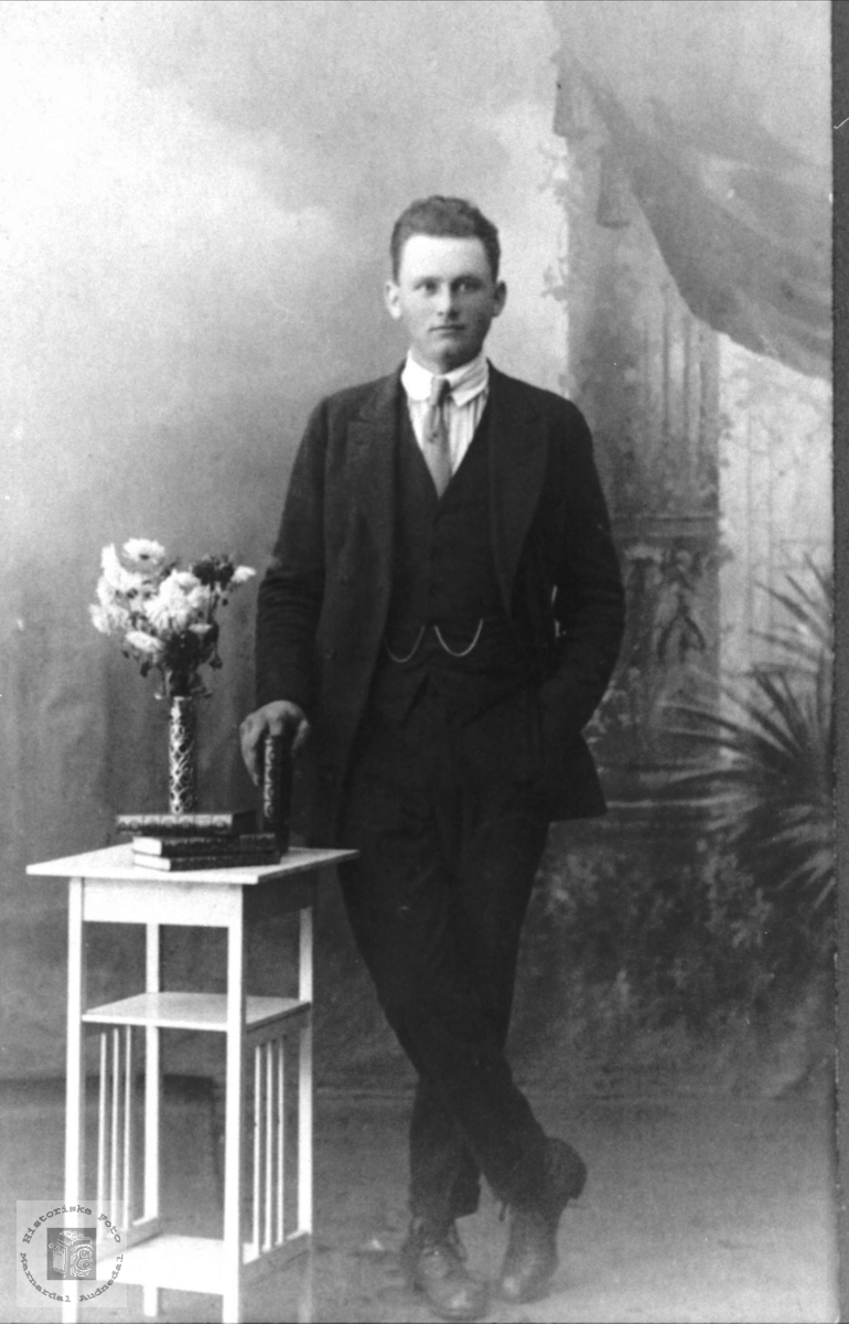 Portrett av Peder Heddeland, Øyslebø.
