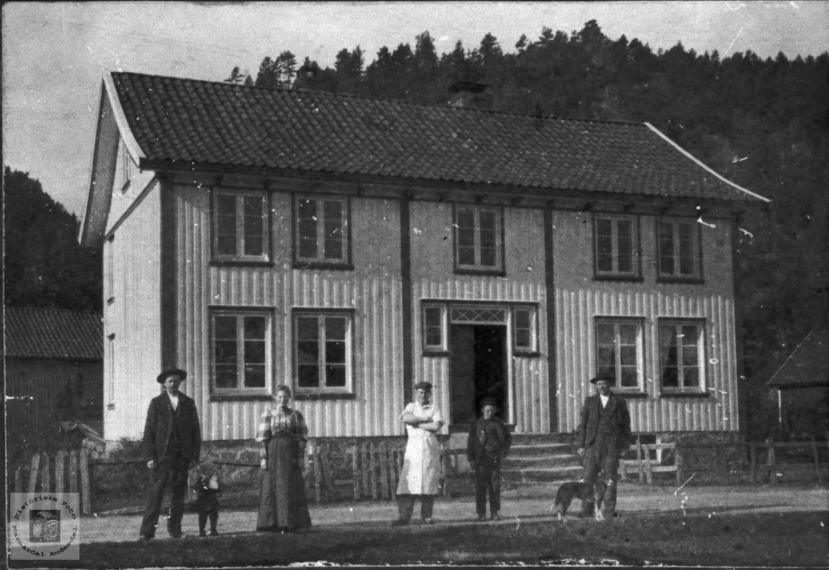 Tobias Gabrielsens hus, Øyslebø.