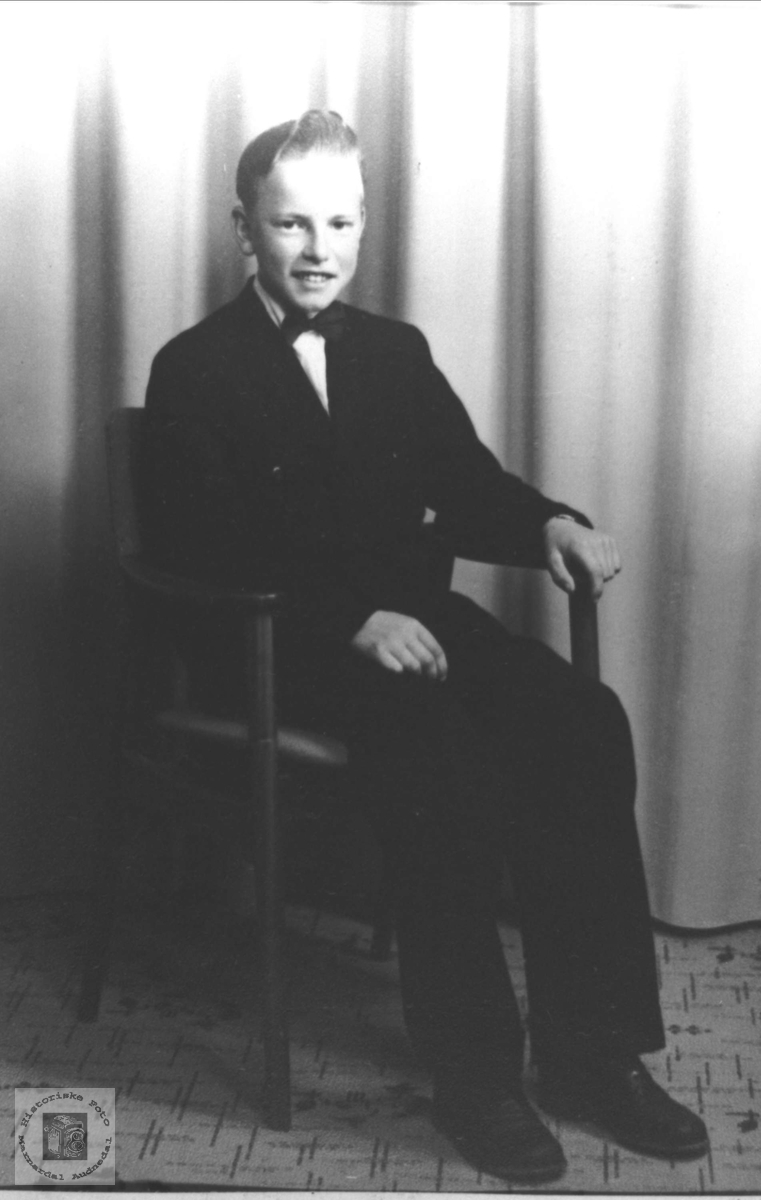 Portrett av Oddleiv Finsådal, Øyslebø.