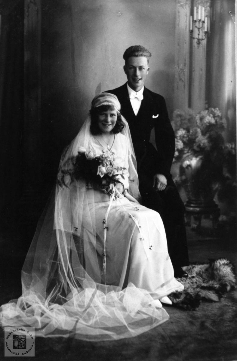 Brudebilde av Bergljot og Michael Svaba.