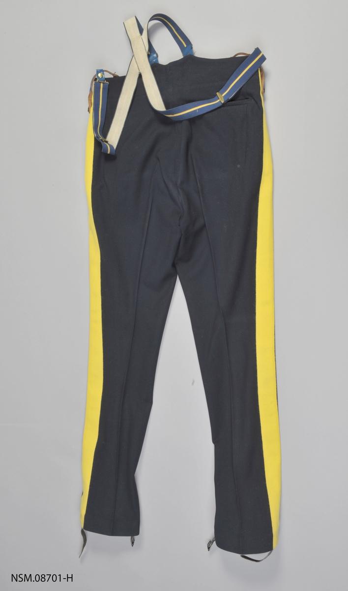 Uniformsbukse for Royal Canadian Mounted Police.