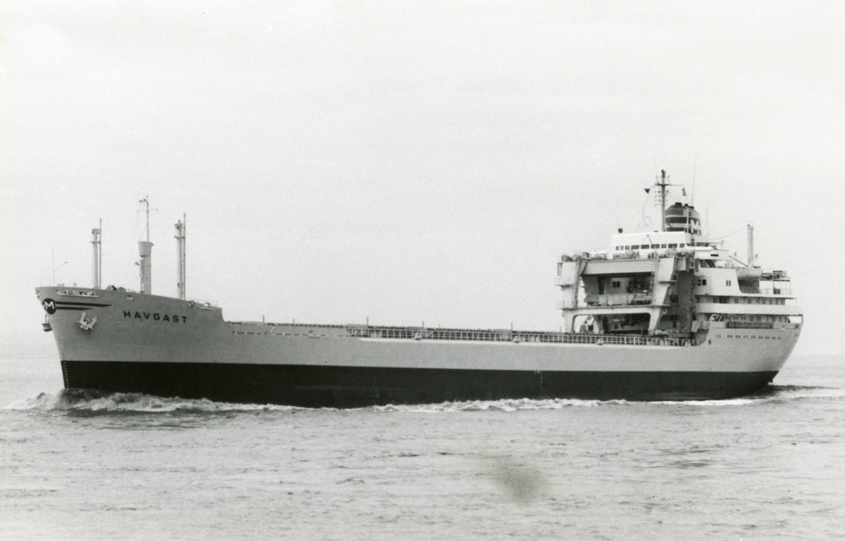 M/S Havgast (b.1963, Deutsche Werft A.G., Hamburg, Vest-Tyskland)