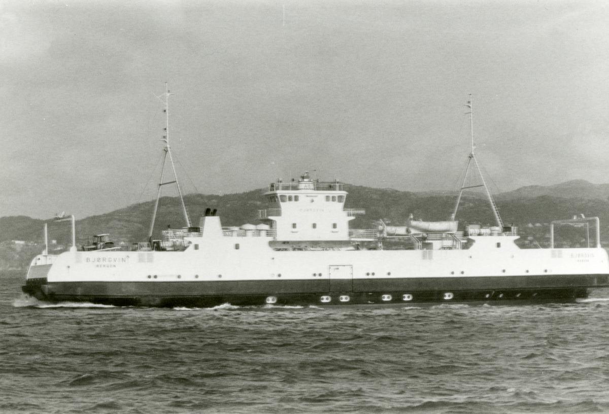 M/F 'Bjørgvin' (b.1975, Løland Verft A/S, Leirvik i Sogn).