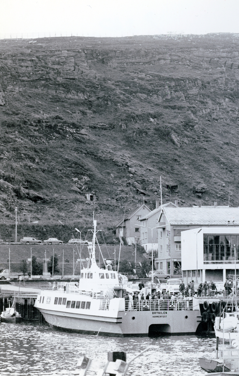 M/S Brynilen (b.1975, Westermoen  Hydrofoil A/S, Mandal)