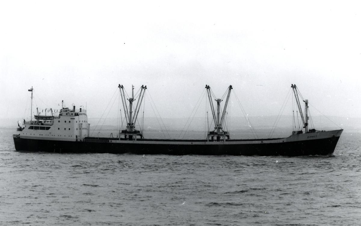 M/S Dianet (b.1962, A/S Porsgrunds mek. Verksted, Porsgrunn)